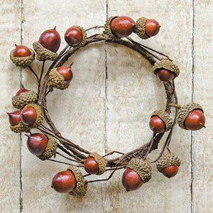 "Acorns 3.5"" Decorative Ring"